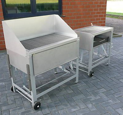 Holzkohlegrill, Grill
